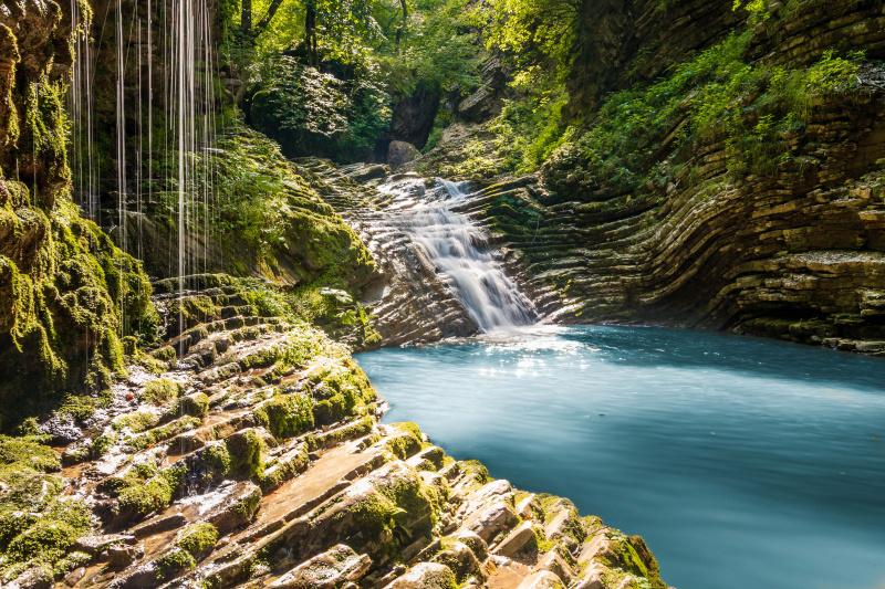 Водопады Руфабго, Плато Лагонаки (Лаго-Наки) / Достопримечательности на  Едем-в-Гости.ру