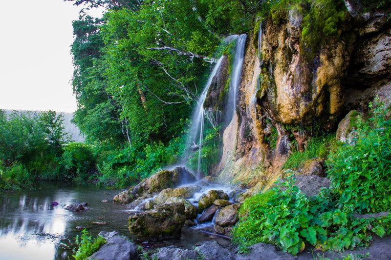 Водопад Плакун, Суксун / Достопримечательности на Едем-в-Гости.ру