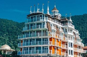 новый афон гостиницы и отели